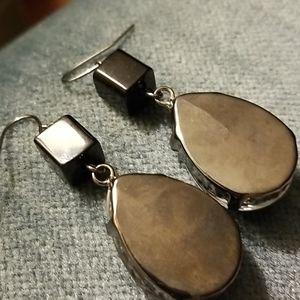 Handmade Jewelry - Heart 2 Hand Handmade Zebra jewel earrings